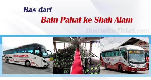 Bas dari Batu Pahat ke Shah Alam