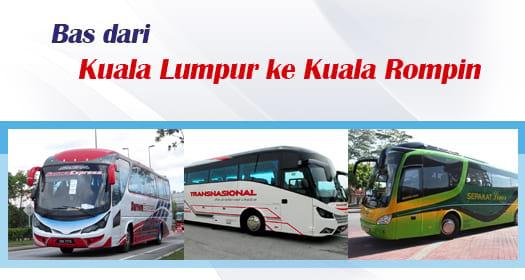 Bas dari Kuala Lumpur ke Kuala Rompin