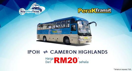 Perak Transit Antara Ipoh dan Cameron Highlands
