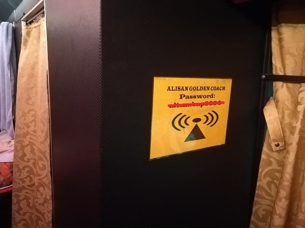 WiFi disediakan