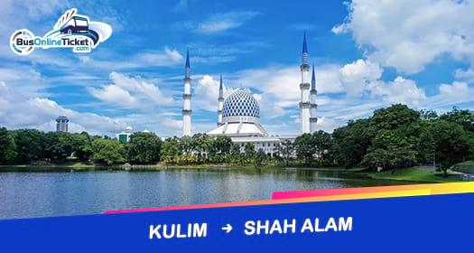 Bas dari Kulim ke Shah Alam