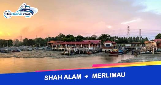 Bas dari Shah Alam ke Merlimau