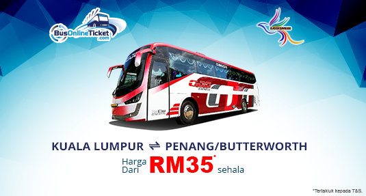 GJG Express Offers Bus From Kuala Lumpur to Butterworth and Penang