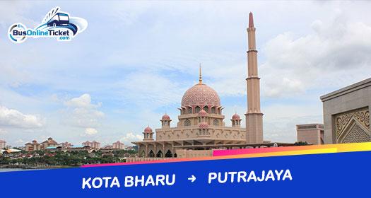 Bas dari Kota Bharu ke Putrajaya