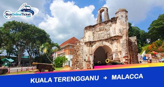 Bas dari Kuala Terengganu ke Melaka
