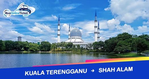 Bas dari Kuala Terengganu ke Shah Alam