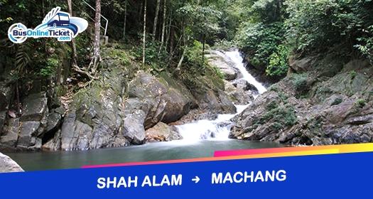 Bas dari Shah Alam ke Machang