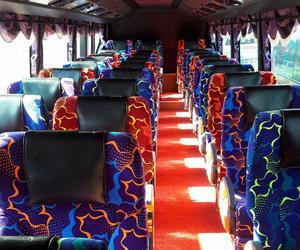 Tempat Duduk Arwana Express