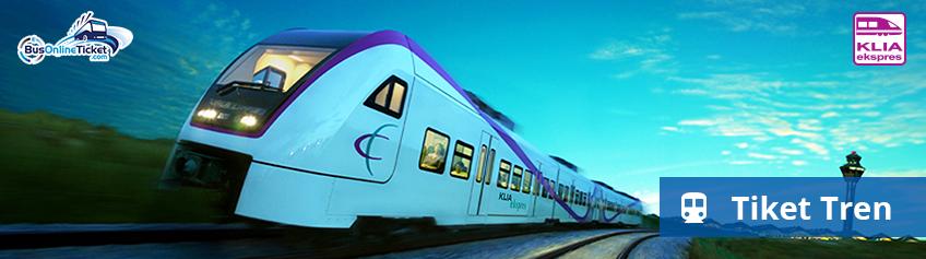 Tempah Tiket Kereta Api Online ke Malaysia dan Singapura