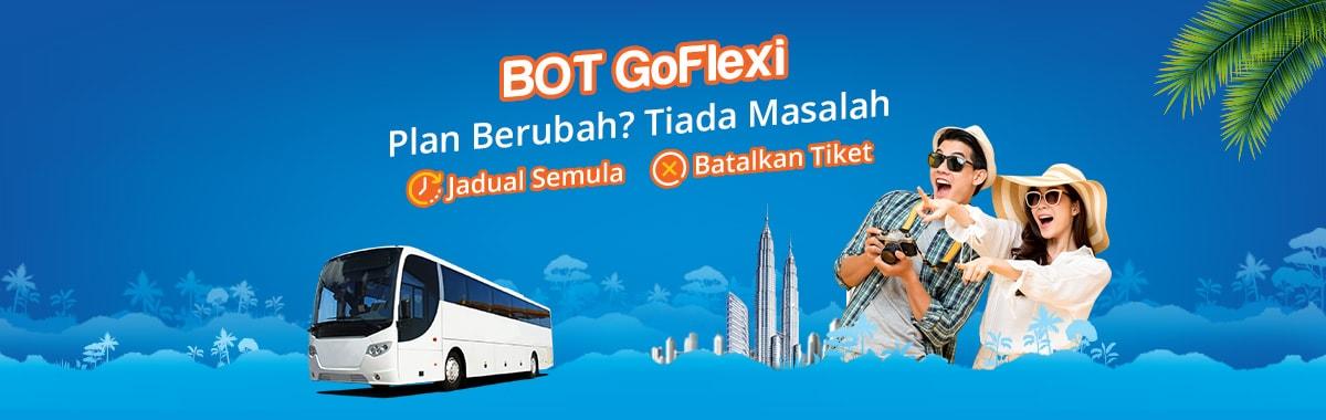 BOT GoFlexi dengan BusOnlineTicket