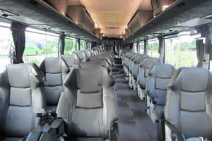 Adik Beradik Bus Interior View