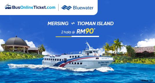Bluewater Ferry dari Mersing ke Tioman Island